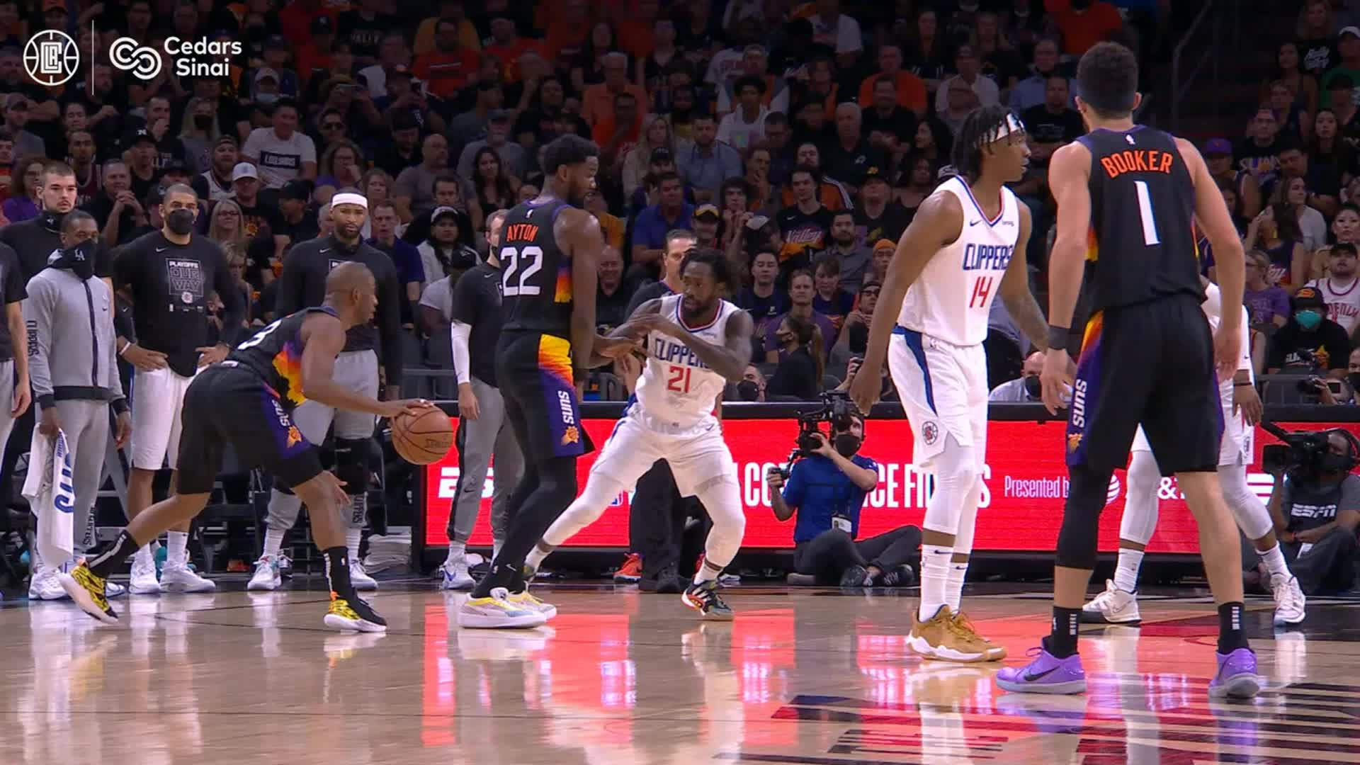 Cedars-Sinai Preventive Play of the Game | Clippers vs Suns Game 5 (6.28.21)