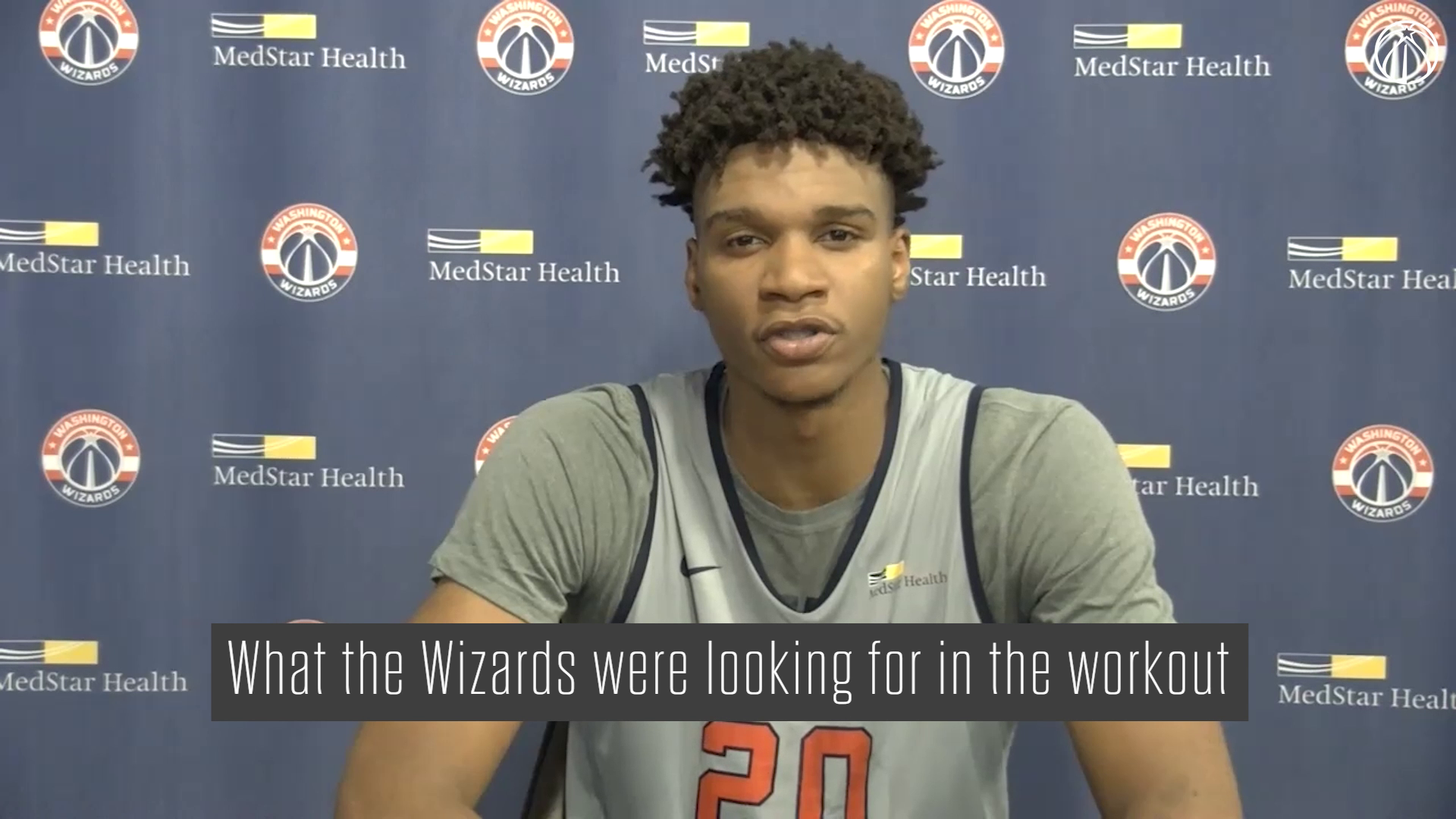 Wizards Pre-Draft Workout Media Availability - 7/6/21