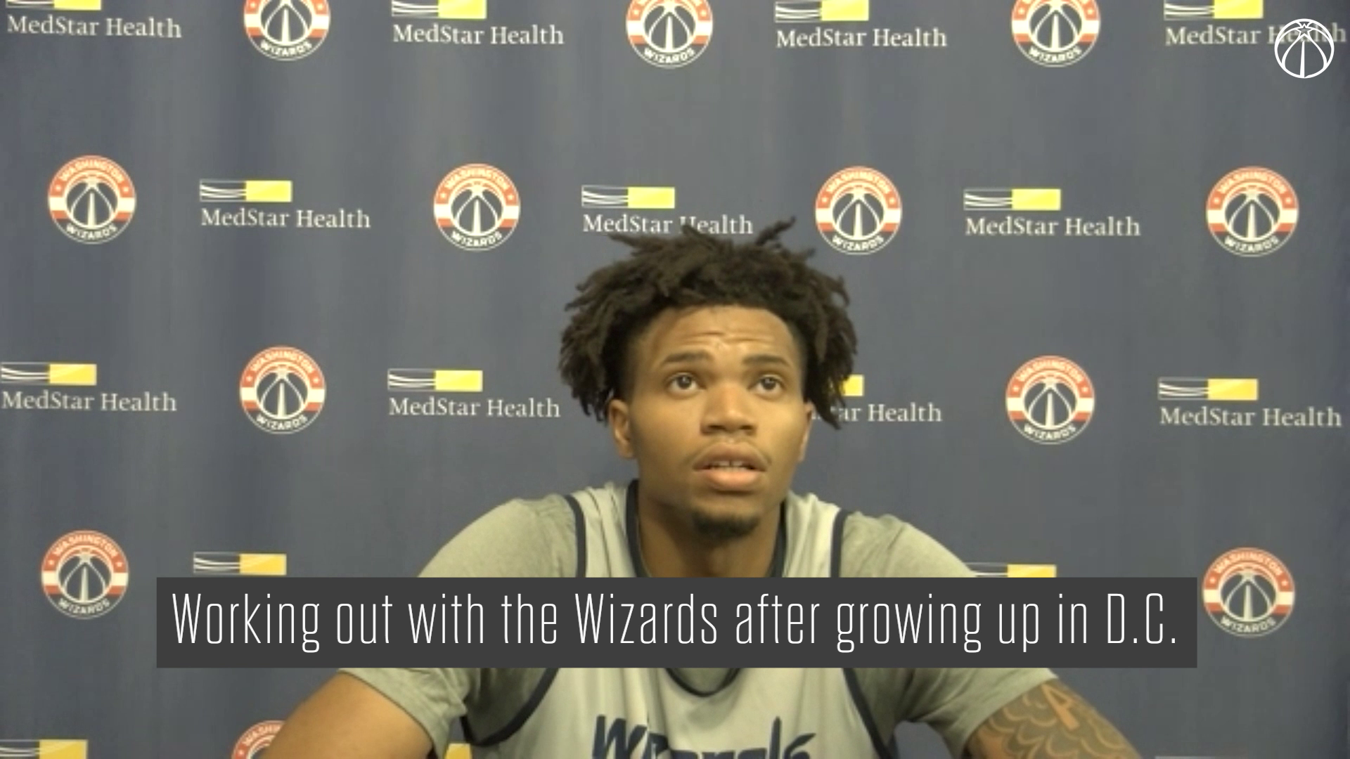 Wizards Pre-Draft Workout Media Availability - 7/7/21