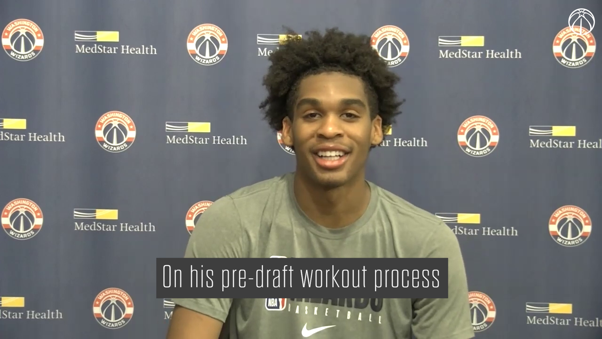 Wizards Pre-Draft Workout Media Availability - 7/9/21
