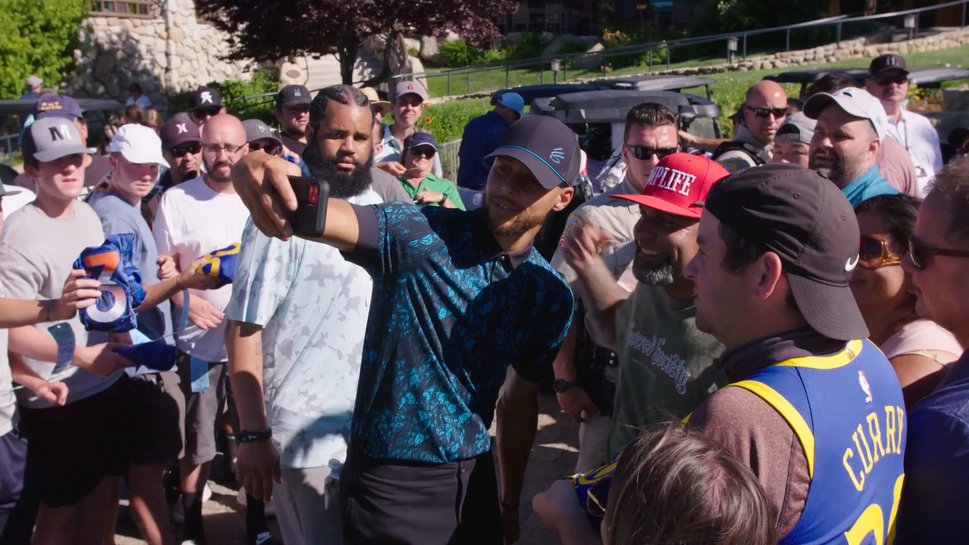 Stephen Curry Competes in Annual Celebrity Golf Tournament