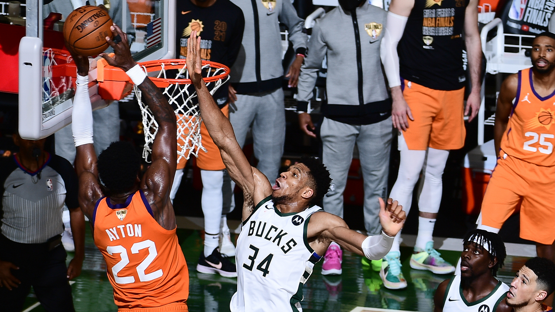 Inside The Mind Of Giannis: Greatest NBA Finals Block In History