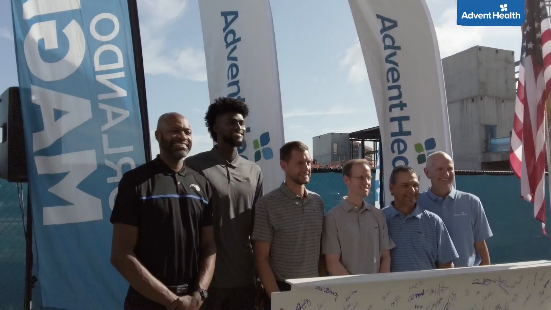 DeVos Family, Orlando Magic and AdventHealth Team Up for AdventHealth Training Center Topping Off Ceremony