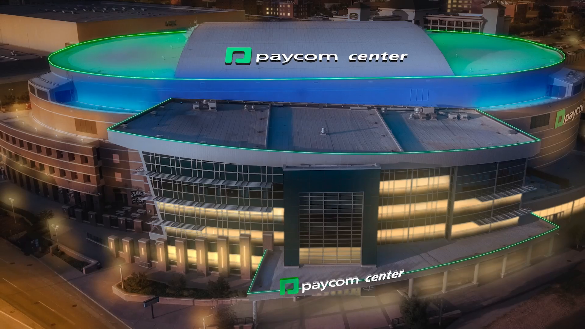 Two Partners, One City. Welcome to Paycom Center