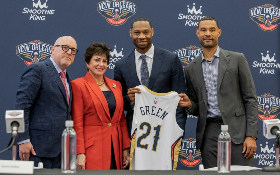 Pelicans Head Coach Willie Green Introductory Press Conference