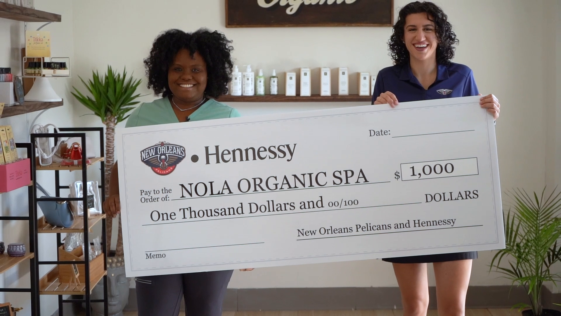 Pelicans, Hennessy Black Owned Business Spotlight: NOLA Organic Spa