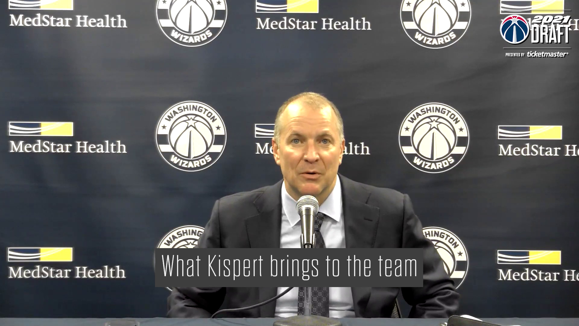 Tommy Sheppard and Wes Unseld Jr. Media Availability - 7/29/21