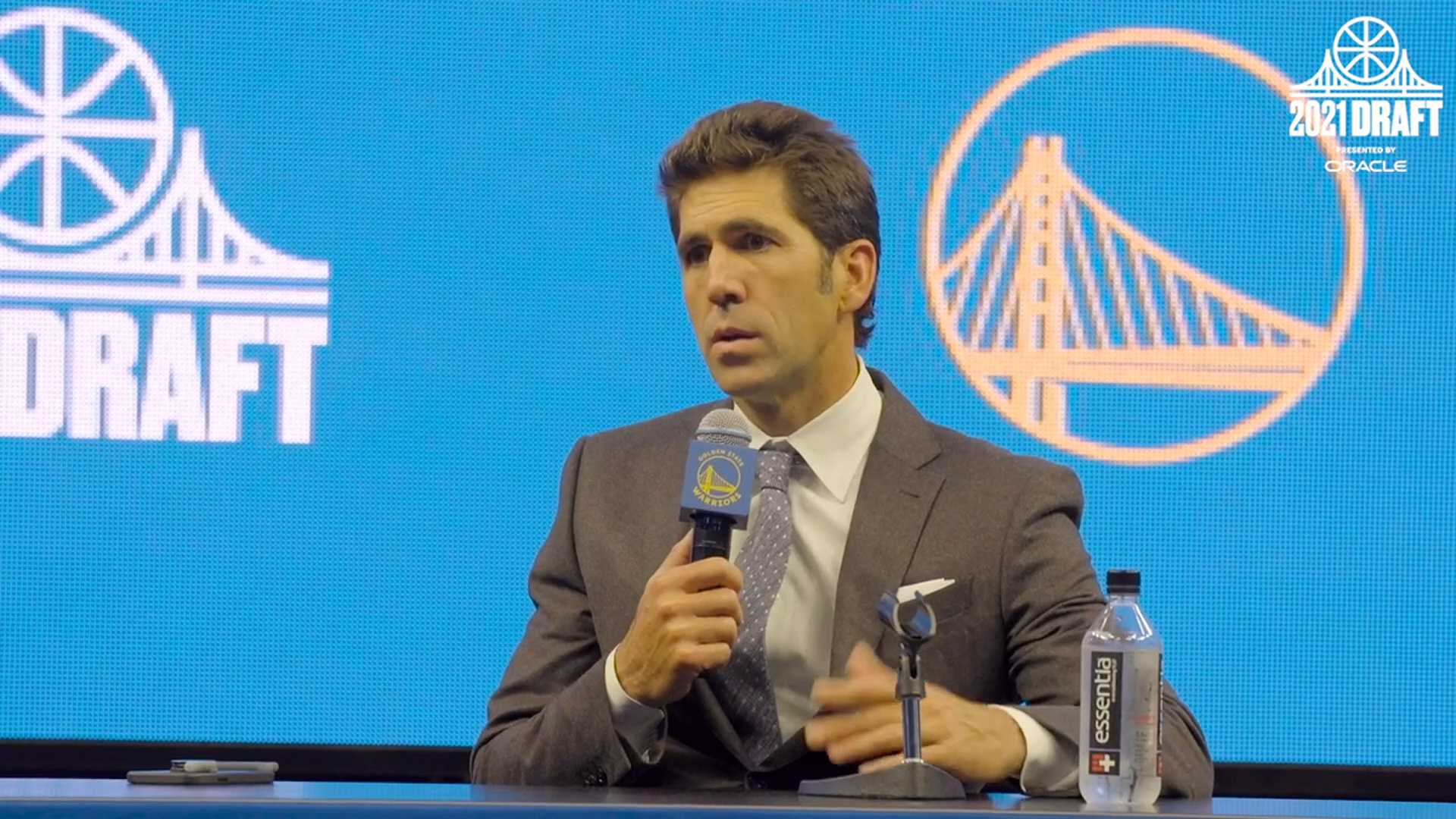 Bob Myers Discusses the Golden State Warriors 2021 Draft Class