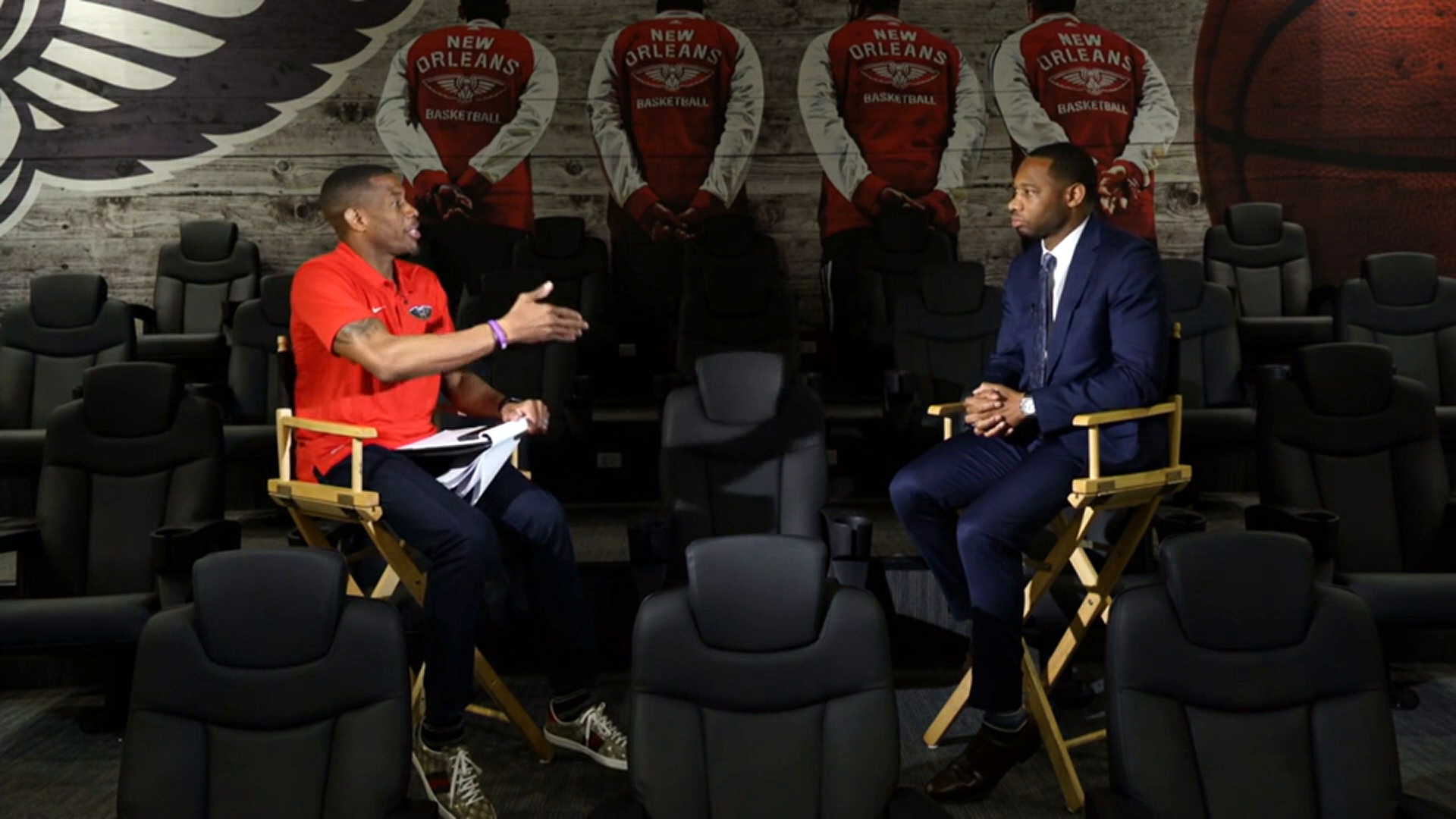 Willie Green one-on-one interview with Antonio Daniels