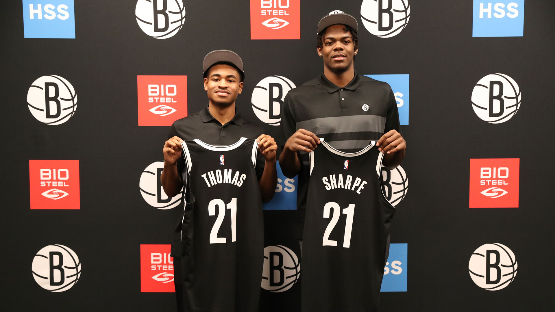 Cam Thomas and Day'Ron Sharpe Rookie Press Conference