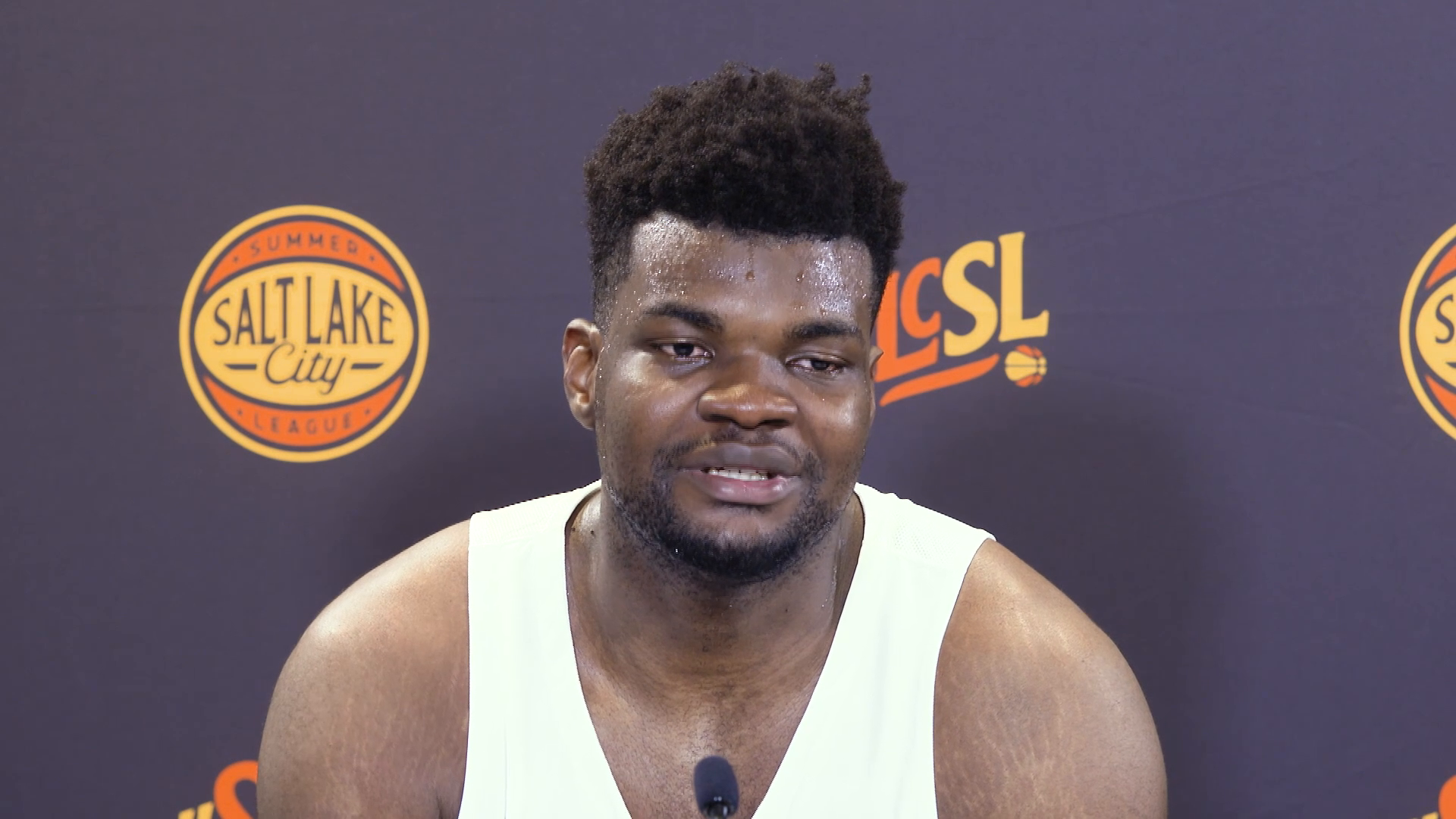 Udoka happy to be playing 5 v 5 again in first SLC Summer League game