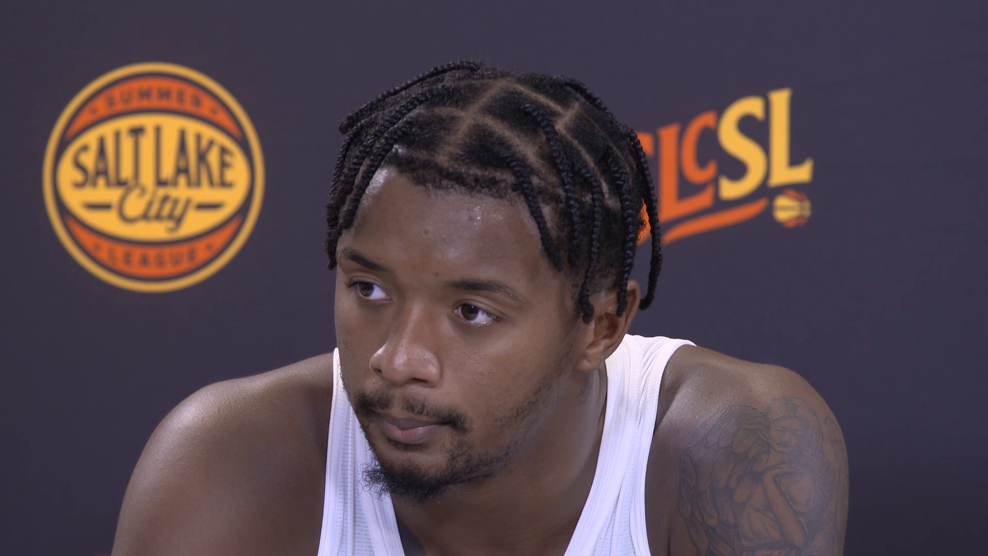 Elijah Hughes more comfortable in day 2 of SLC Summer League