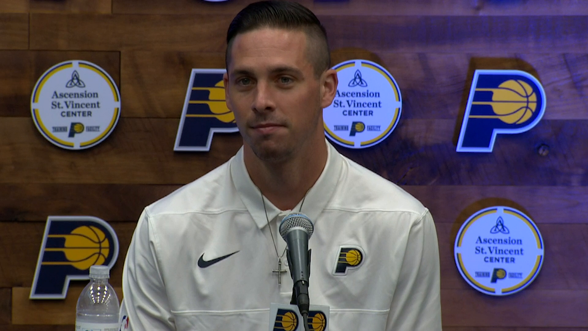 McConnell on Returning to the Pacers