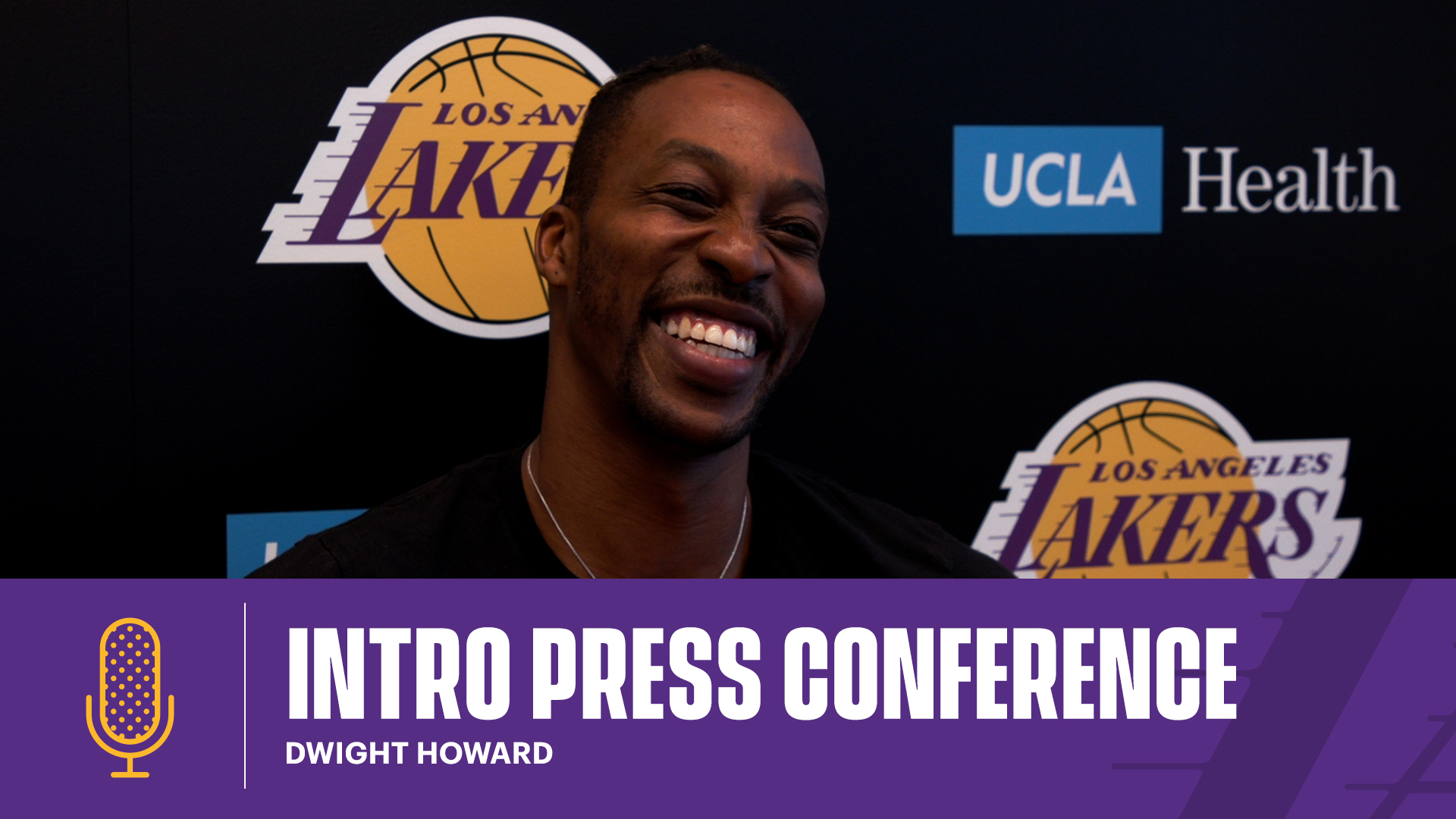 Intro Press Conference: Dwight Howard (8/6/21)