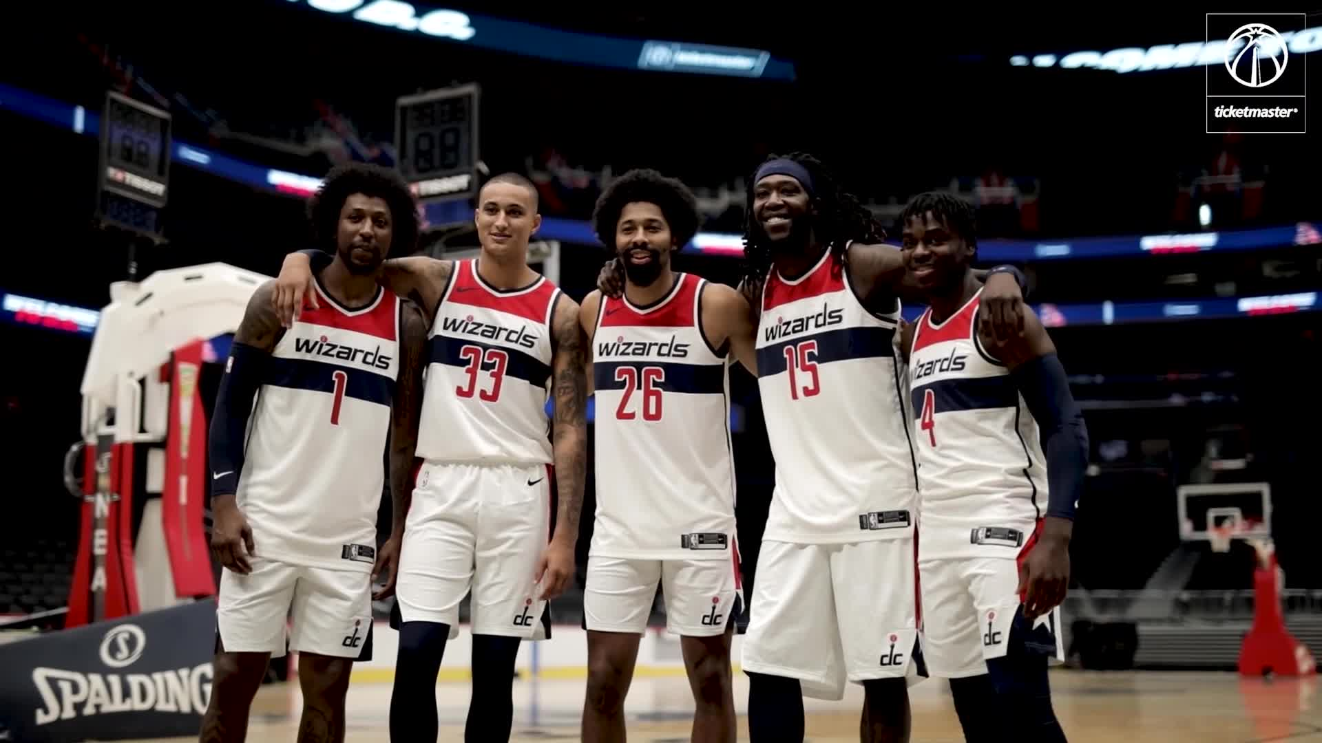 Behind the scenes: The newest Wizards' first day in DC