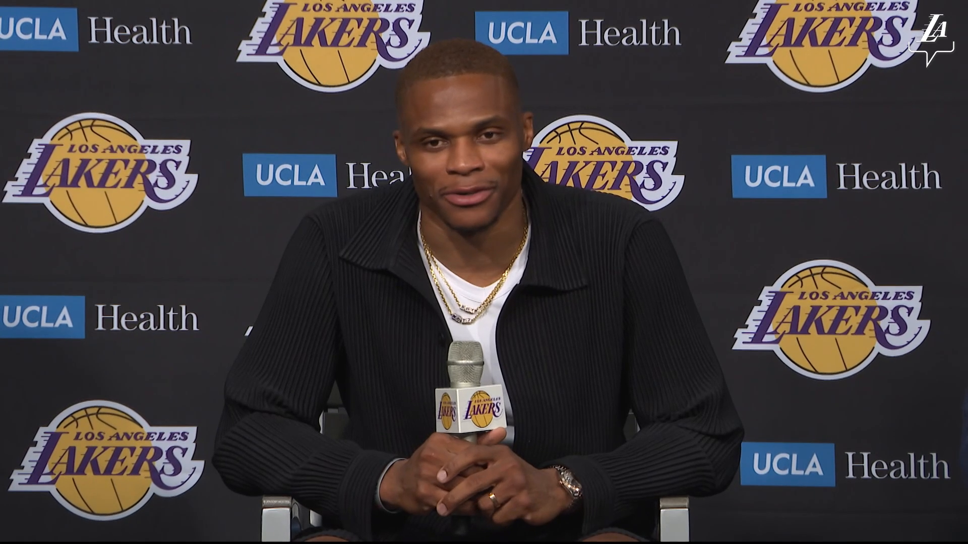 Intro Press Conference: Russell Westbrook (8/10/21)