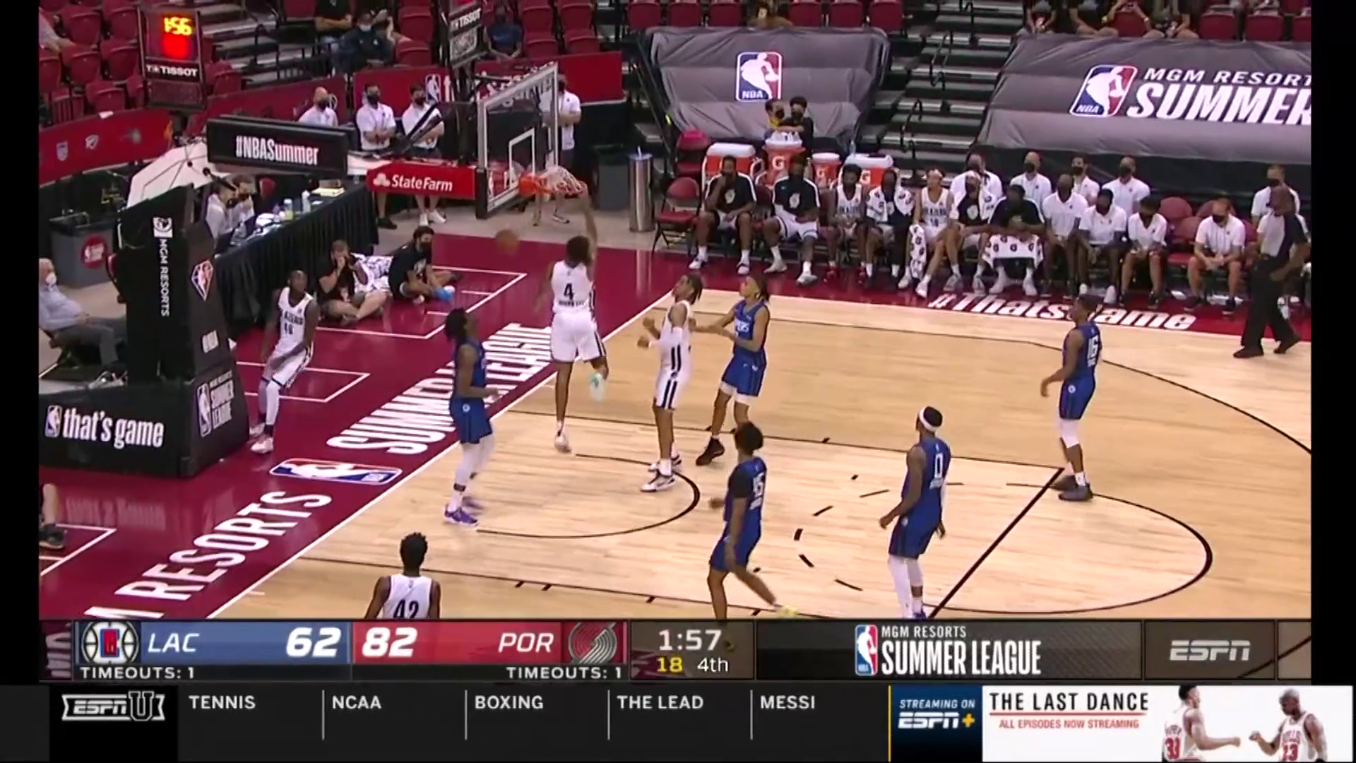 Trail Blazers 86, Clippers 66 | Summer League Highlights