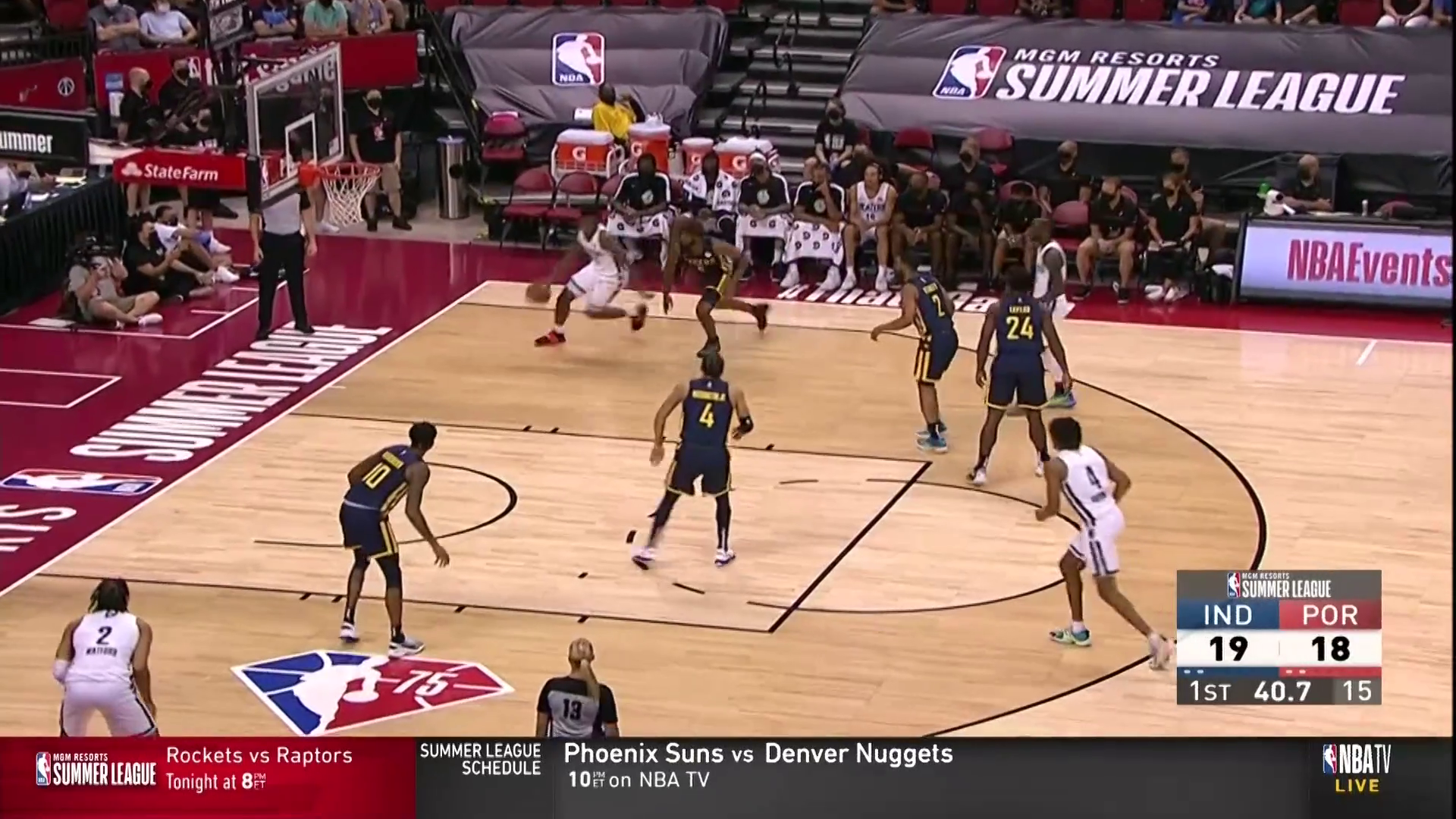 Trail Blazers 64, Pacers 97 | Summer League Highlights