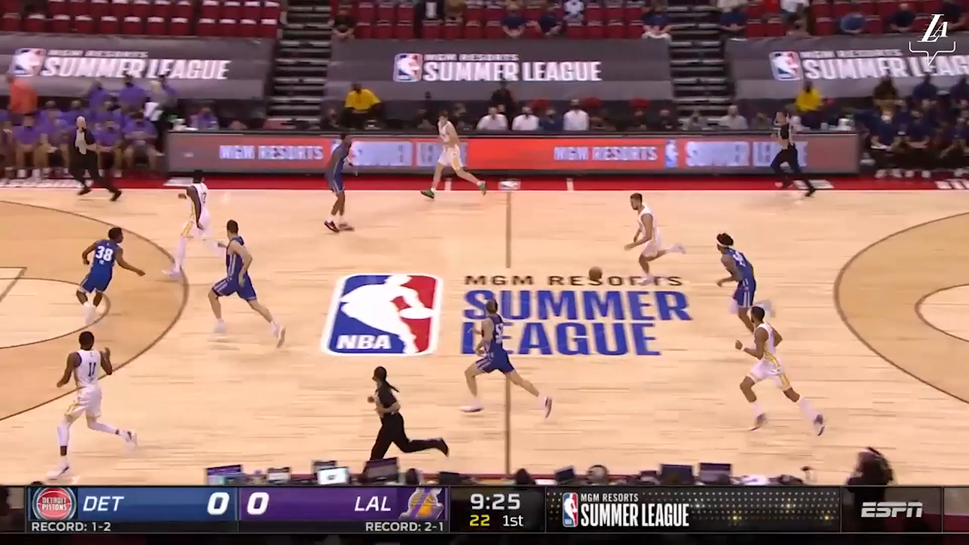 HIGHLIGHTS   Los Angeles Lakers vs Detroit Pistons   Lakers Summer