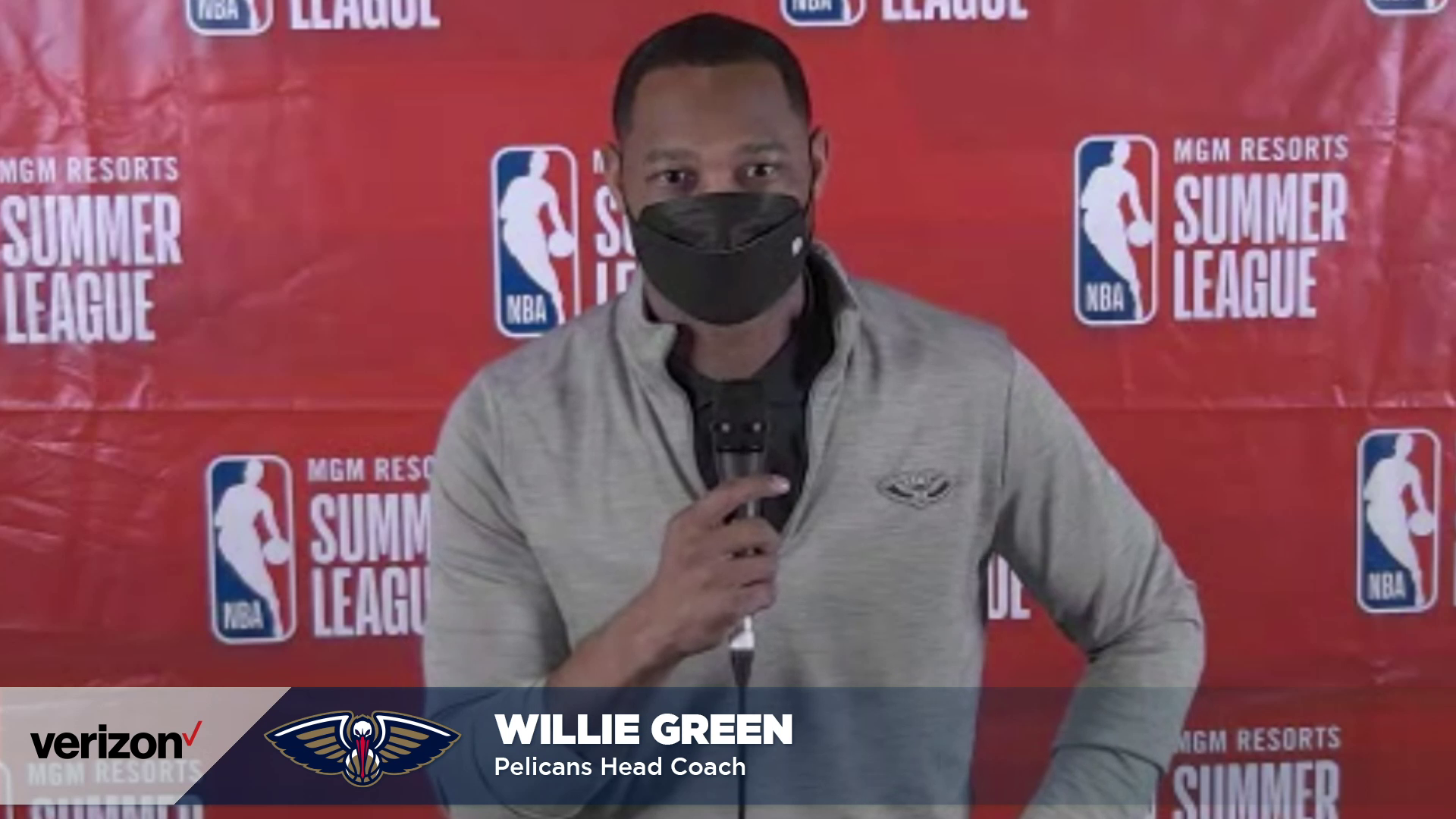 Pelicans-Warriors Postgame: Willie Green on going undefeated in 2021 NBA Summer League