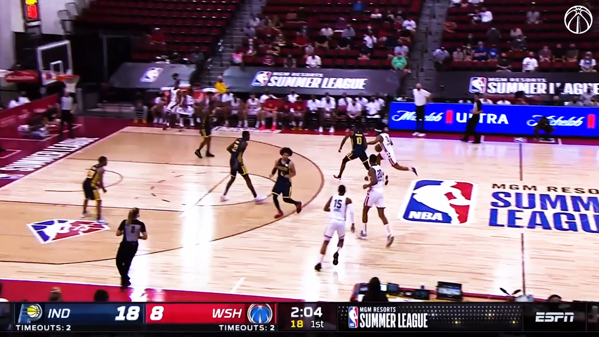 Top plays from Wizards Summer League