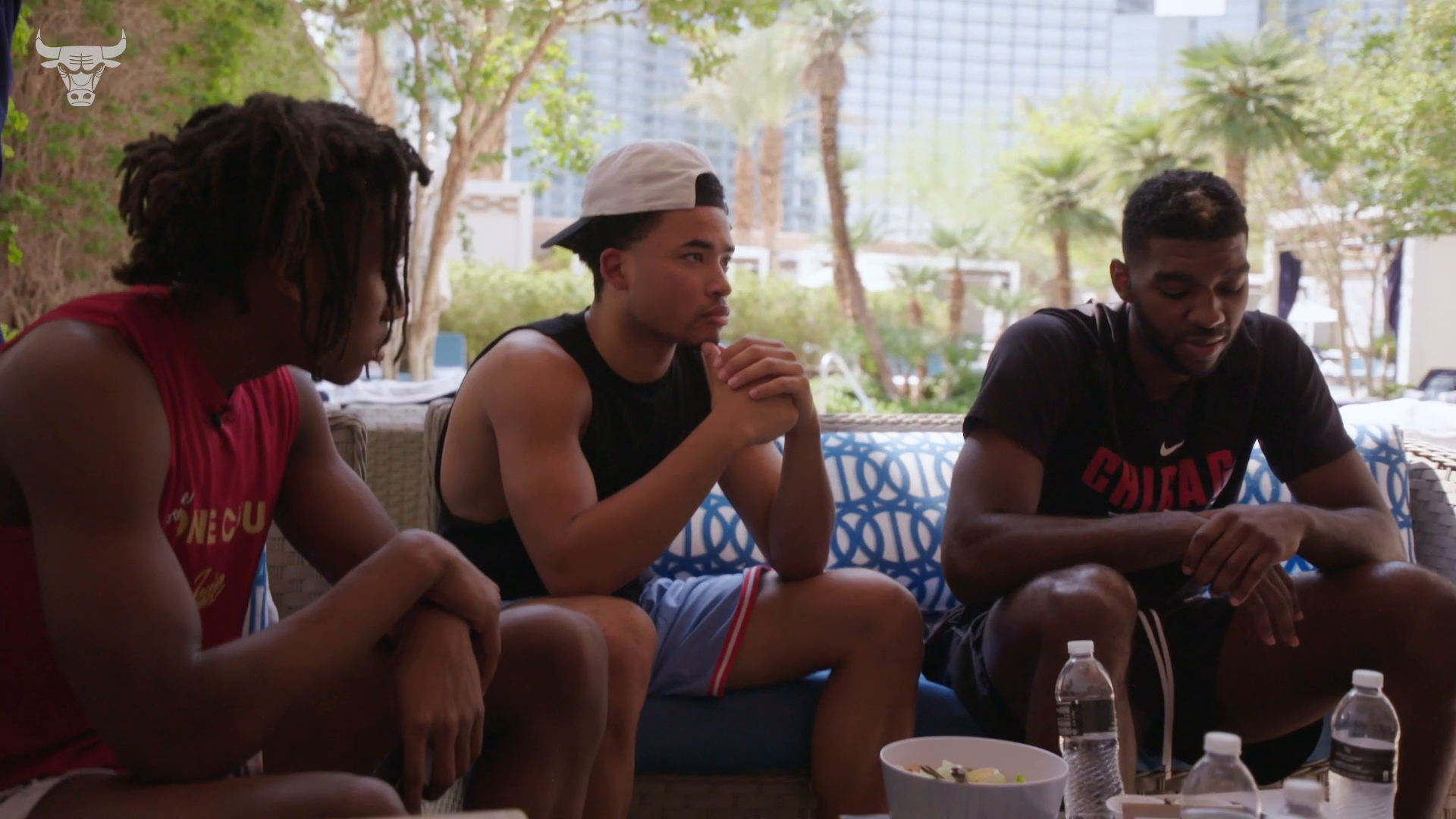 Summer Discussions - Williams & Dotson discuss life in the NBA with Bulls Rookies