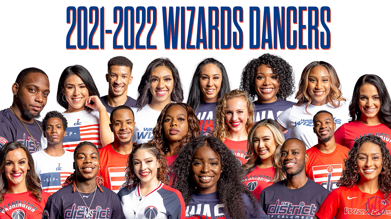Behind the scenes: The making of the 2021-22 Wizards Dancer's team