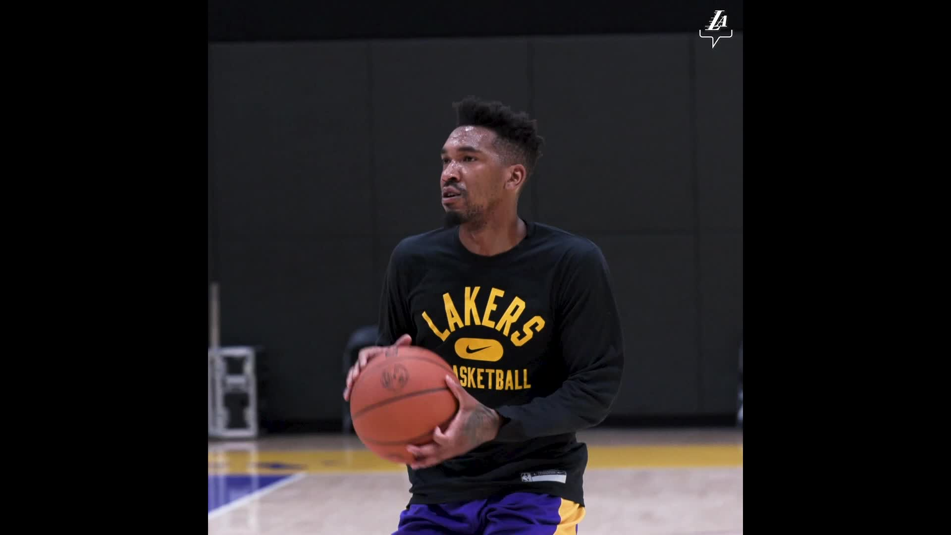Malik Monk getting a feel for his new office