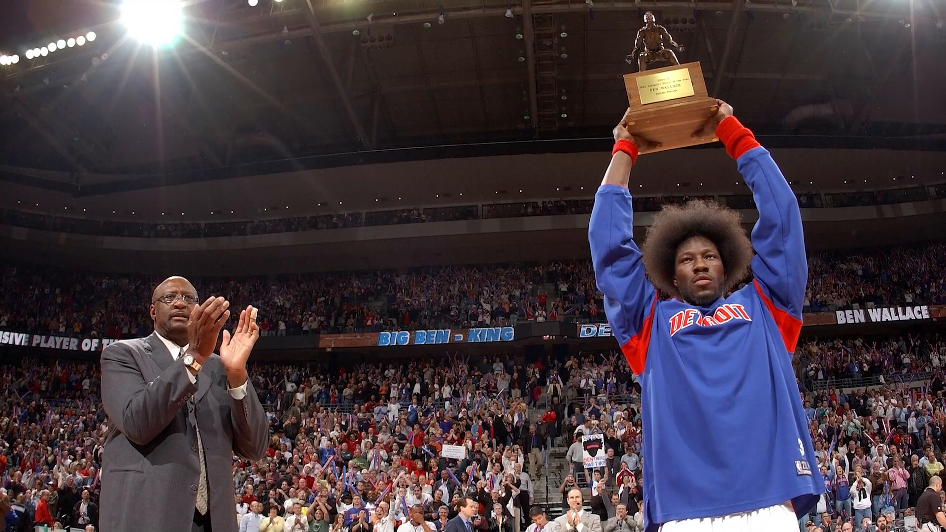 Ben Wallace HOF 2021 Induction | Coming to Detroit
