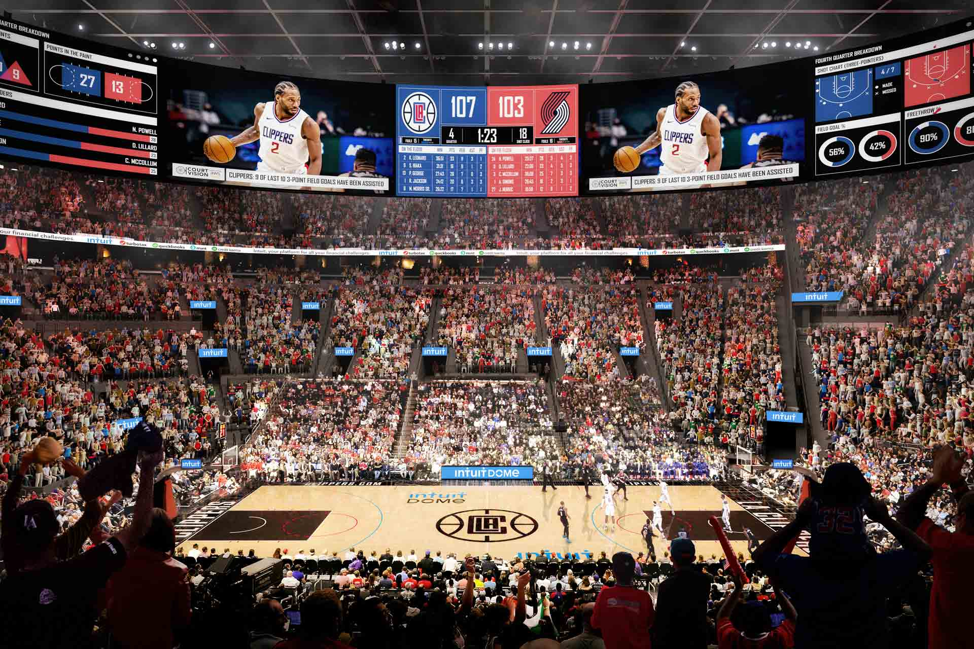 LA Clippers Introduce Intuit Dome