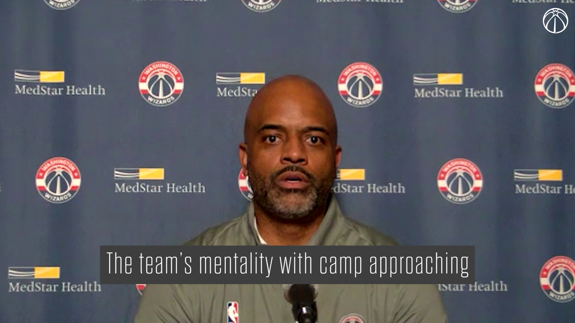 Wes Unseld Jr. Media Availability - 9/24/21