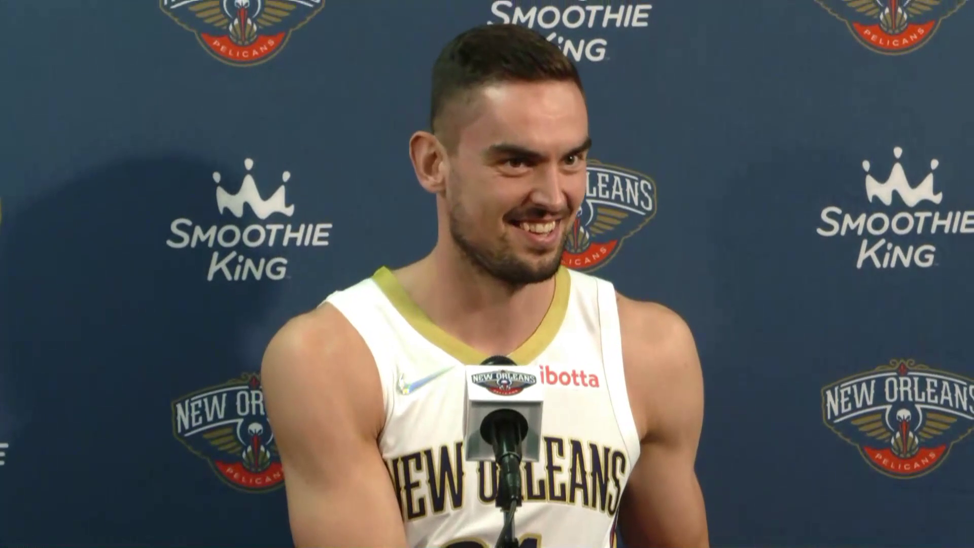 Tomáš Satoranský on Willie Green, playing in New Orleans | Pelicans Media Day 2021 Interviews