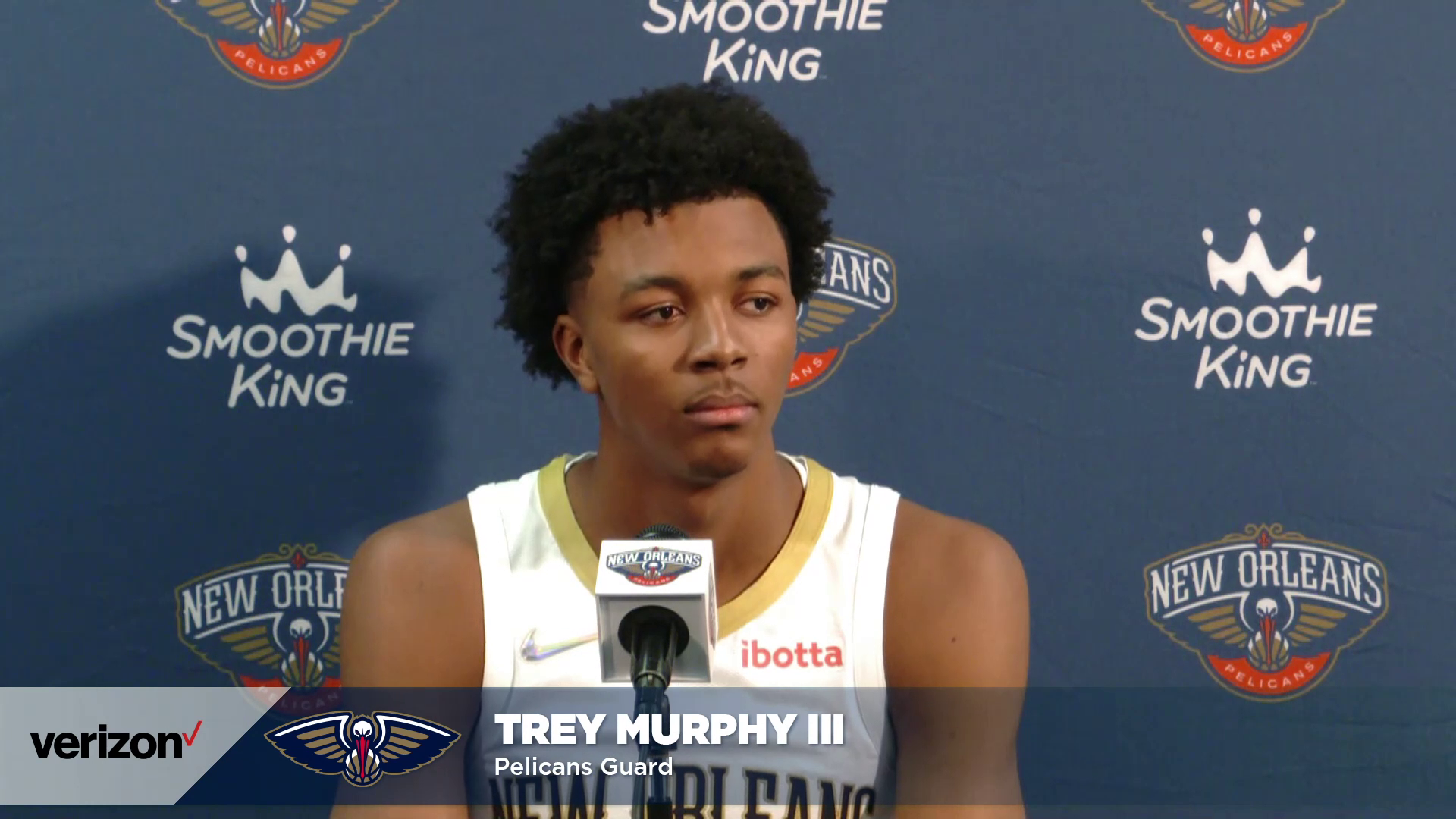 Trey Murphy on Summer League, his Welcome to the NBA moment | Pelicans Media Day 2021 Interviews