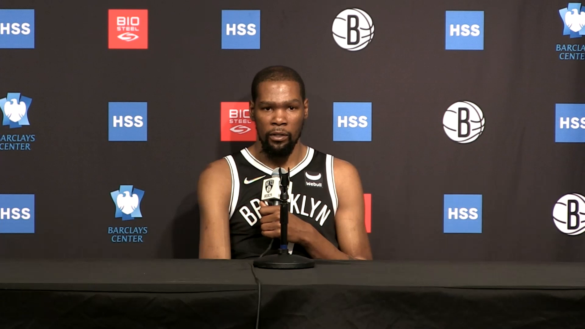 Media Sessions 09.27.21: Kevin Durant