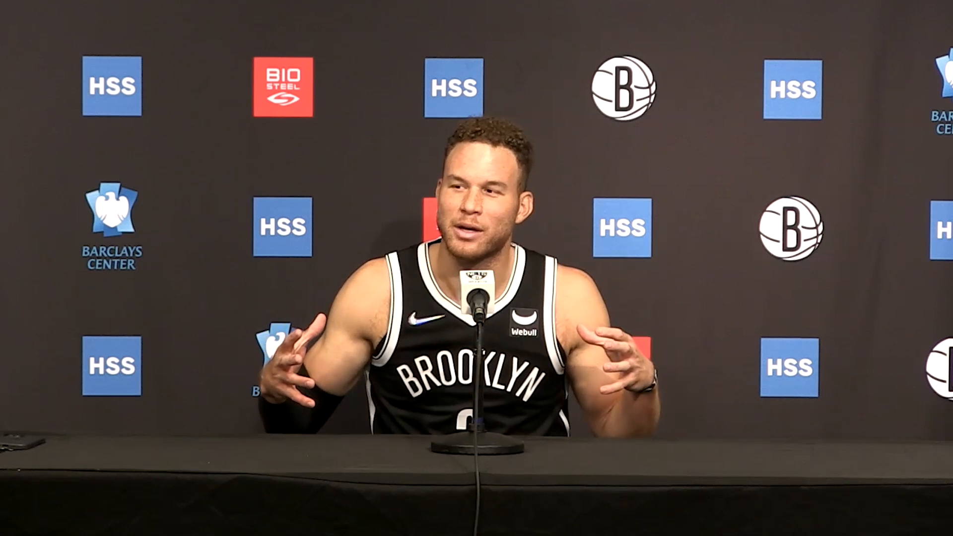 Media Sessions 09.27.21: Blake Griffin