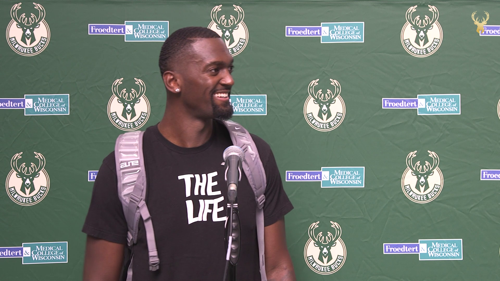 Bobby Portis   Bucks Training Camp Day One Press Conference