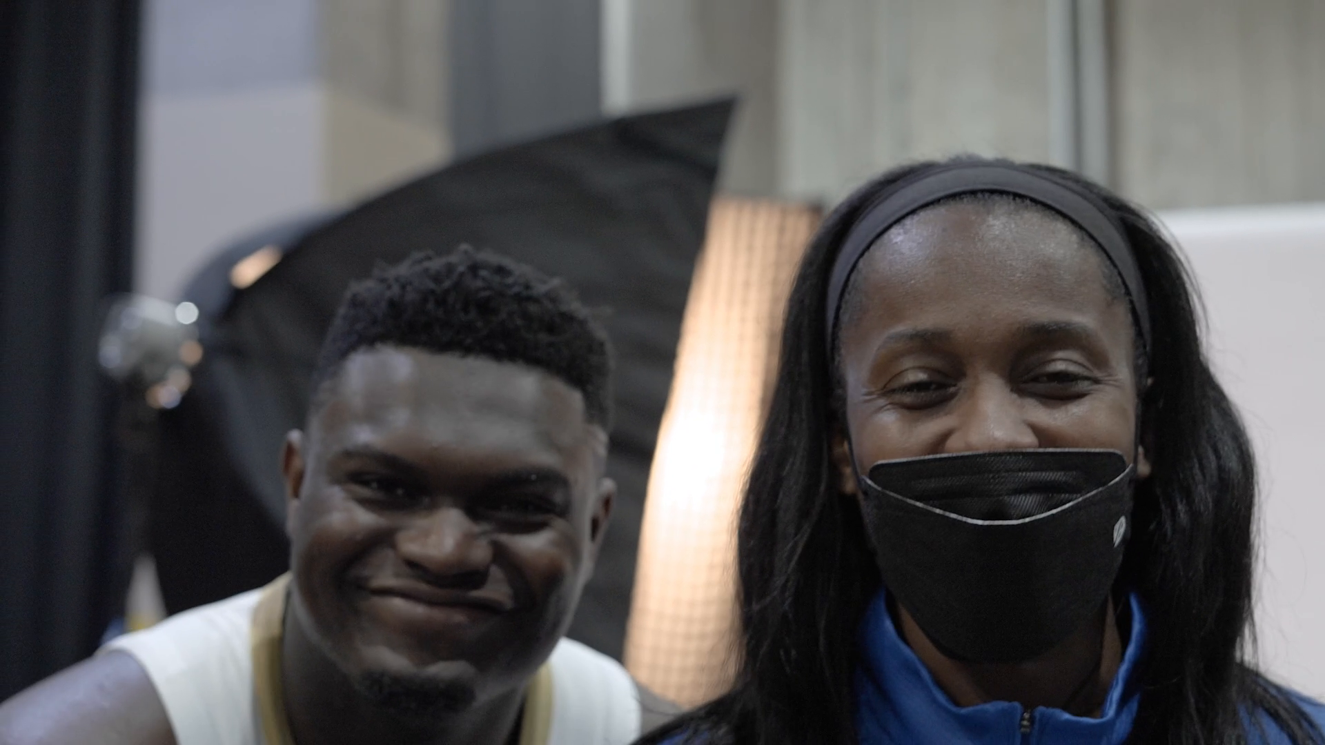 Behind the Scenes at Pelicans Media Day 2021