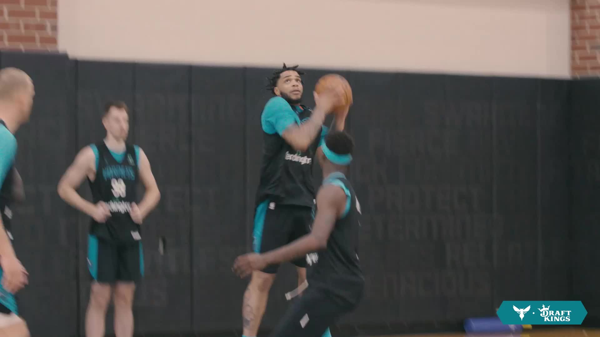 Miles Bridges Feeling It at Hornets Training Camp presented by DraftKings