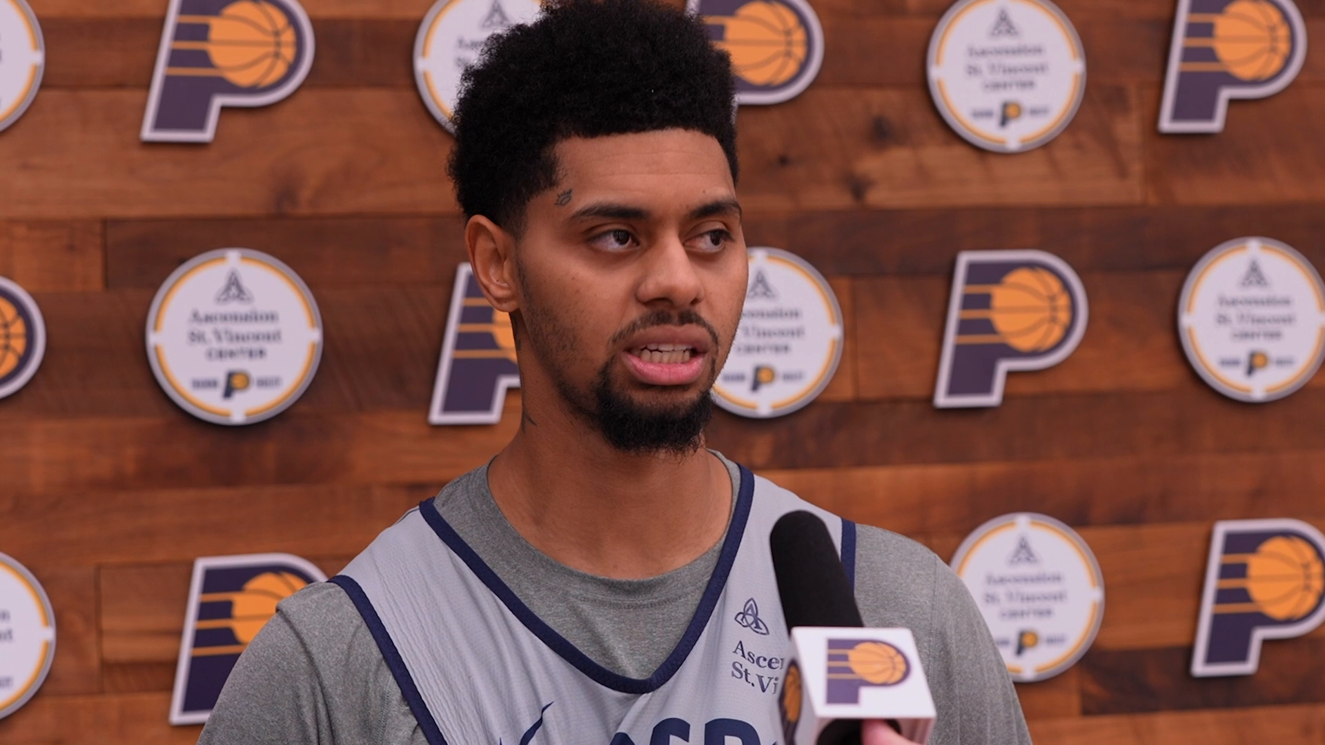 Pacers Discuss Playing Together