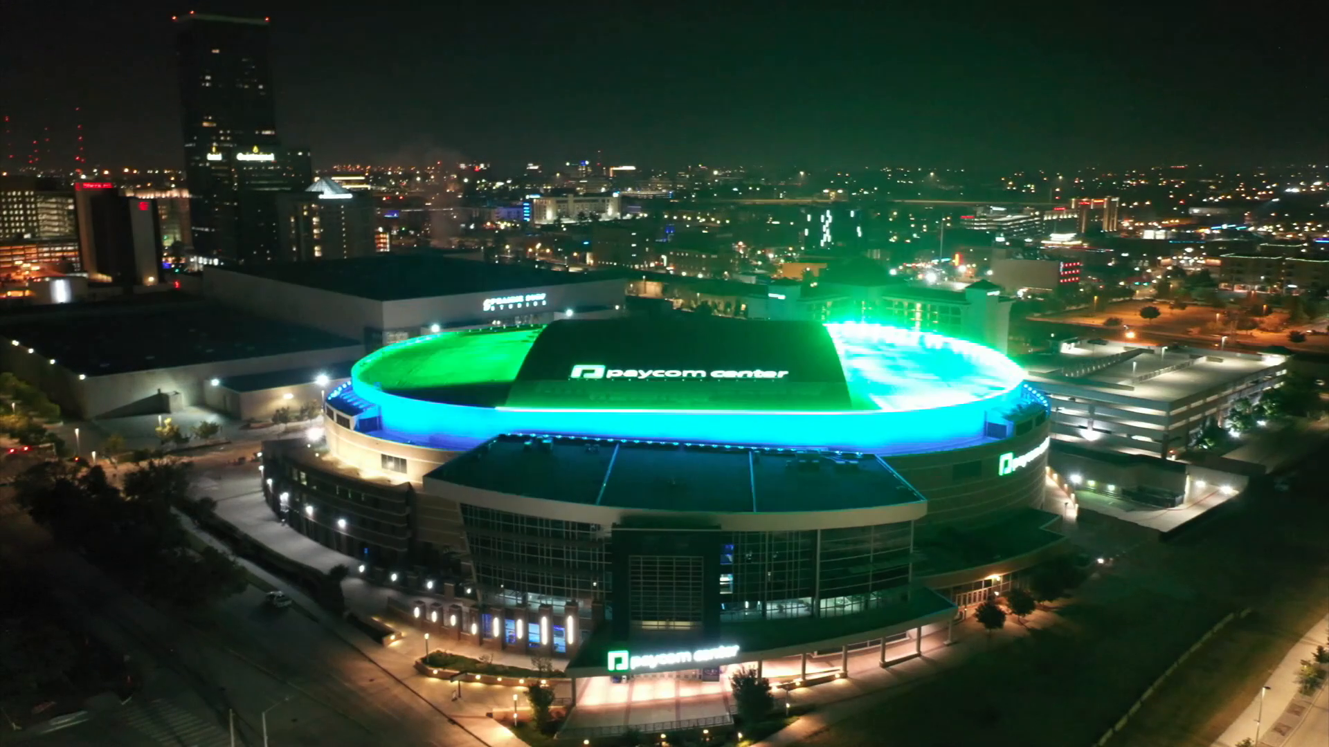 Welcome to Paycom Center: The lights are on