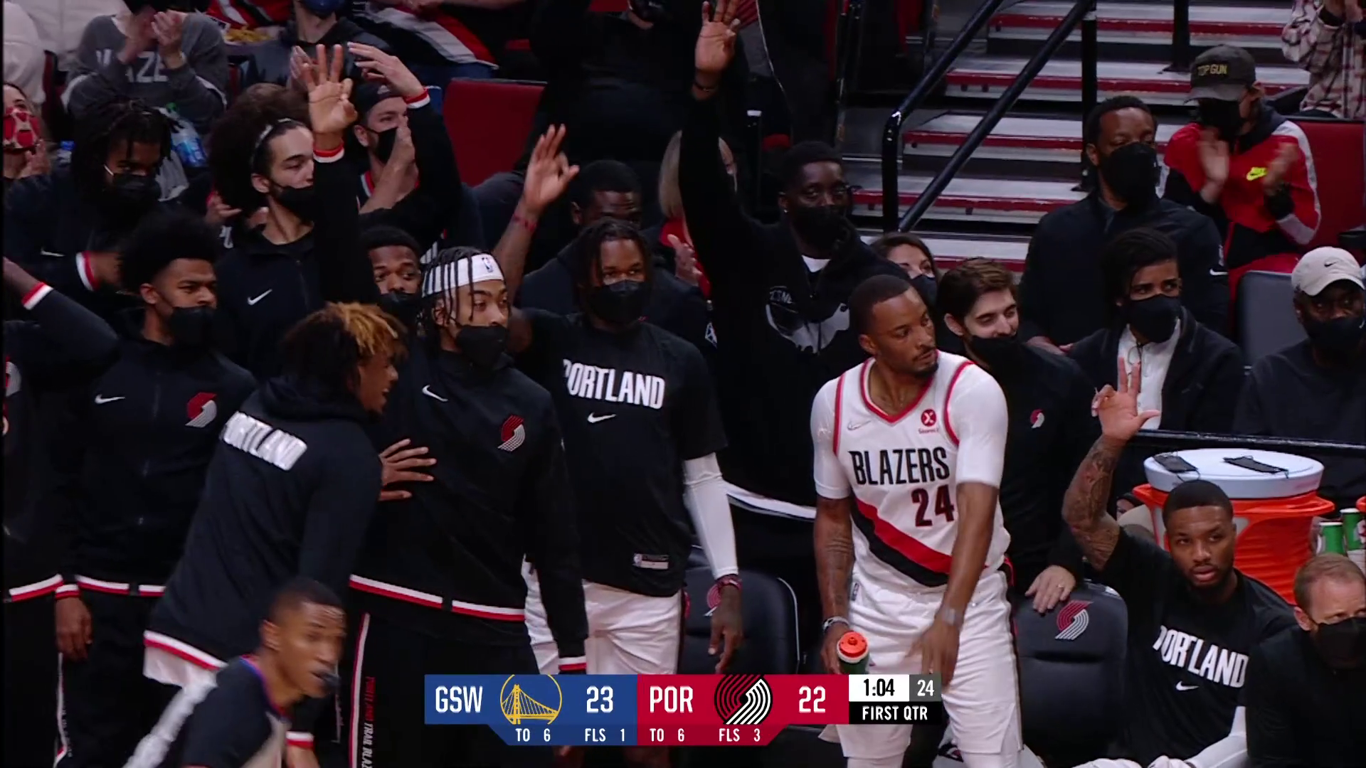 Trail Blazers 107, Warriors 121 | Game Highlights | October 4th, 2021
