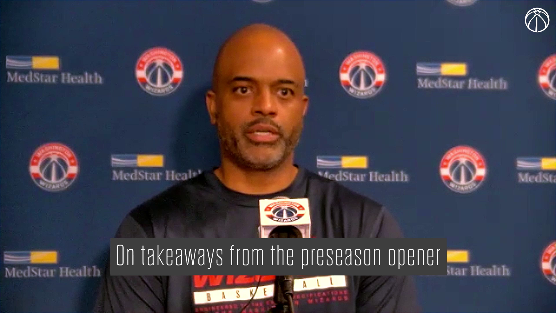Wes Unseld Jr. Media Availability - 10/7/21