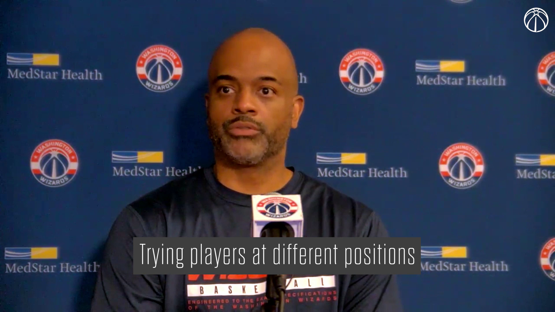 Wes Unseld Jr. Media Availability - 10/8/21