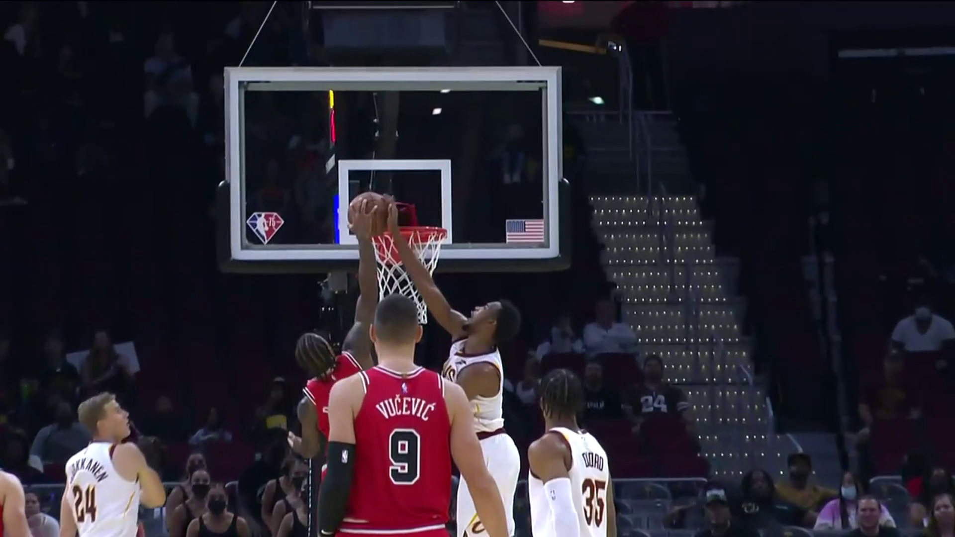 Mobley with a Huge Rejection