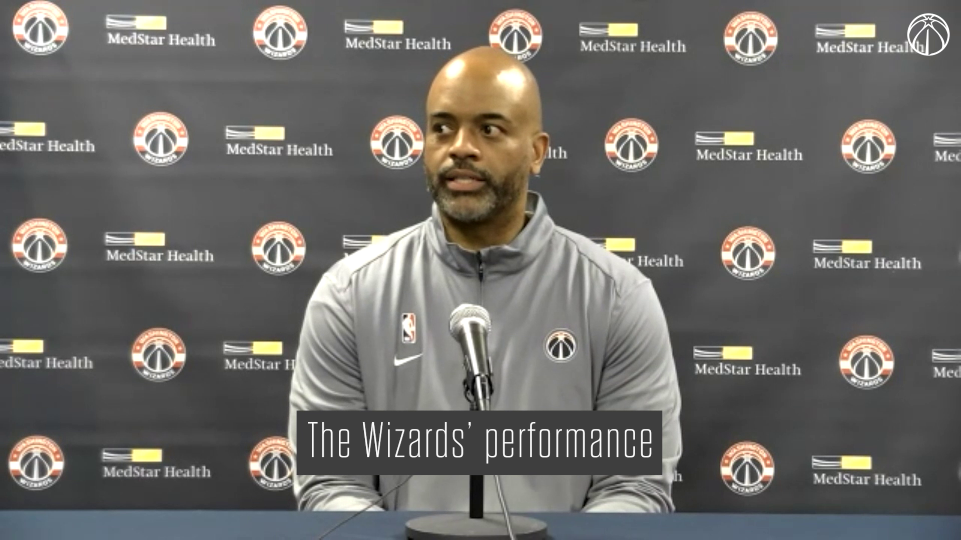 Wes Unseld Postgame Media Availability - 10/12/21