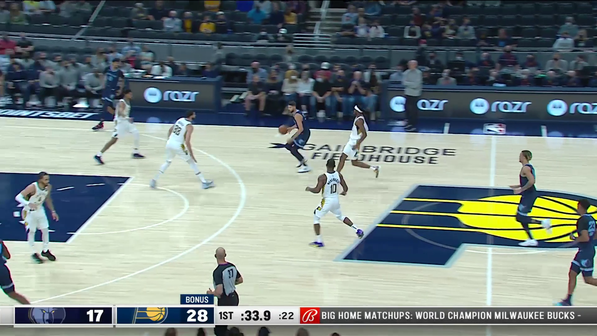 Ziaire Williams with the Slam!