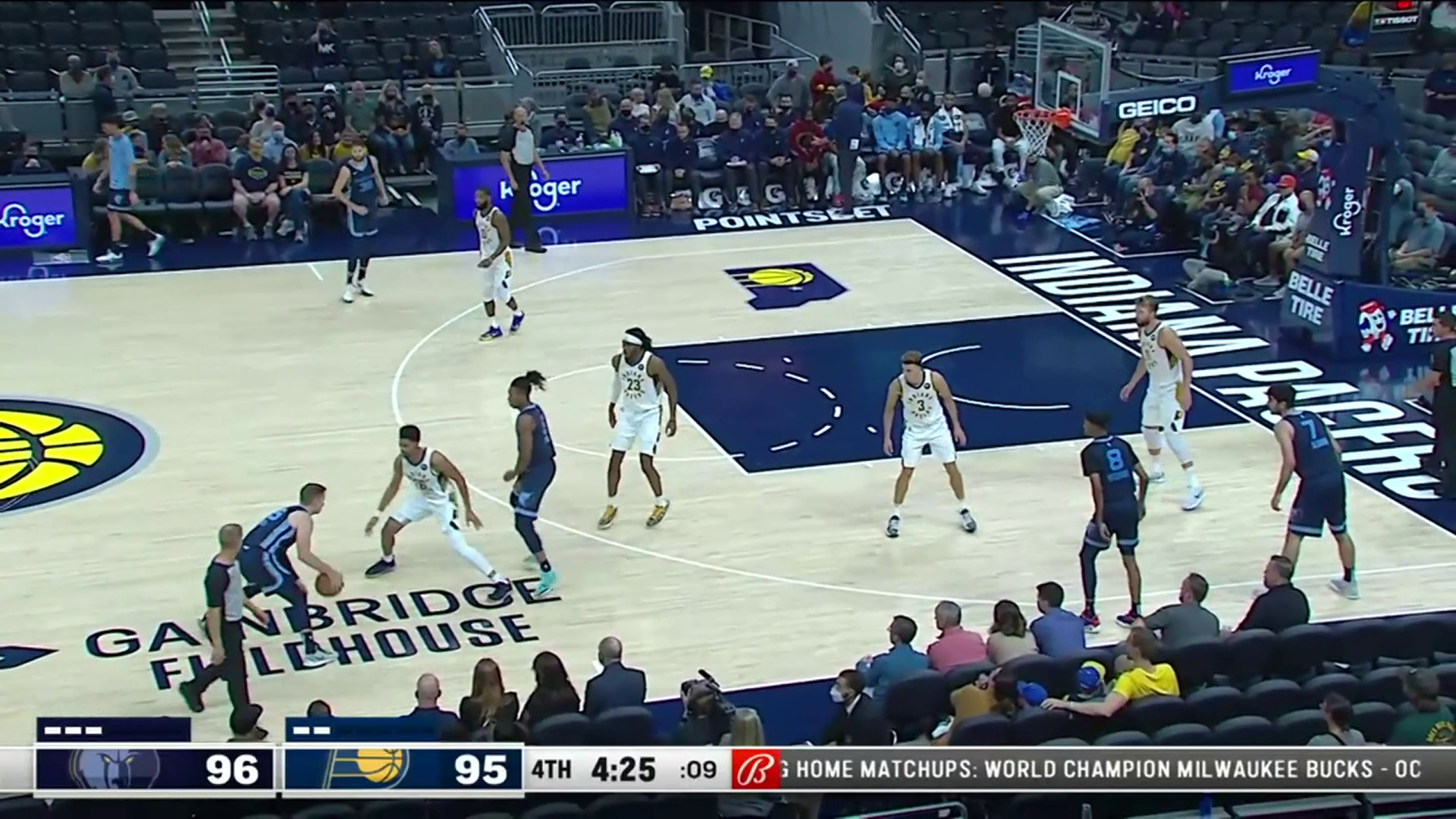 Sam Merrill 30 points @ Pacers 10.13.21