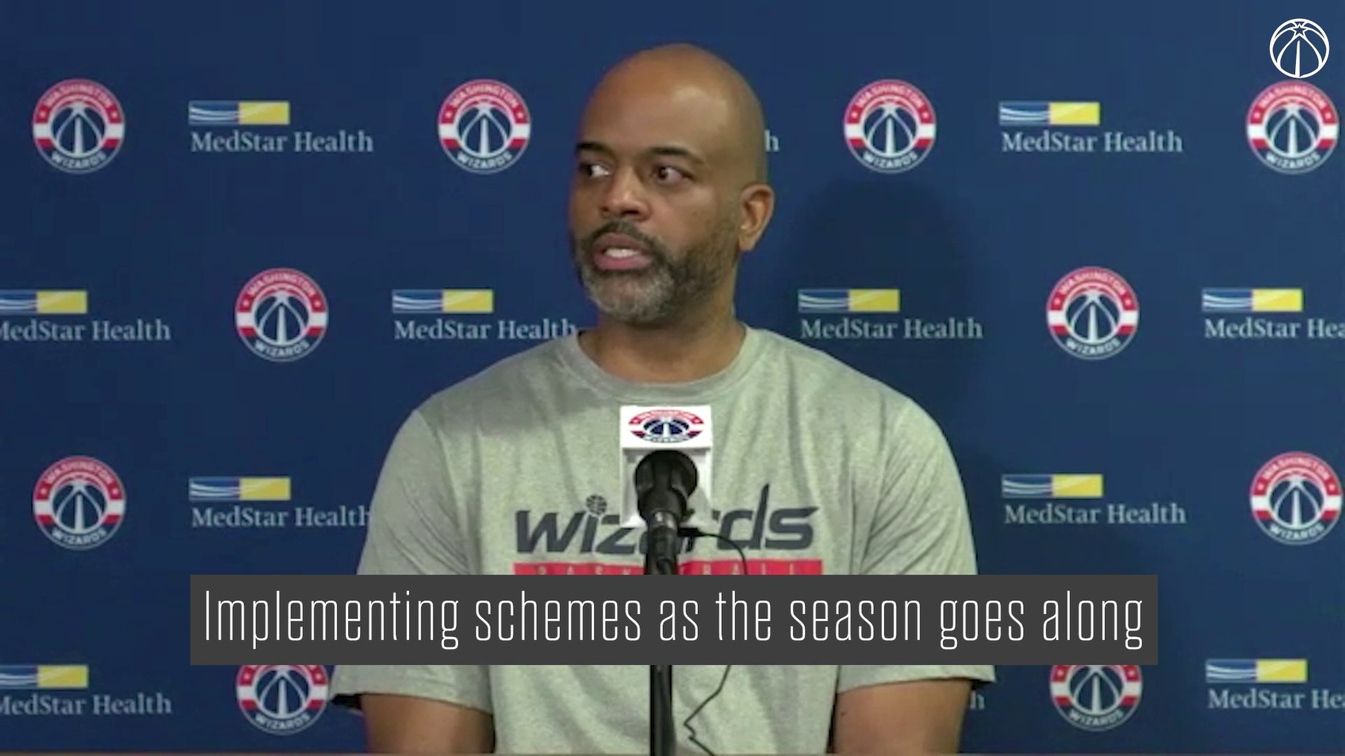 Wes Unseld Jr. Media Availability - 10/14/21
