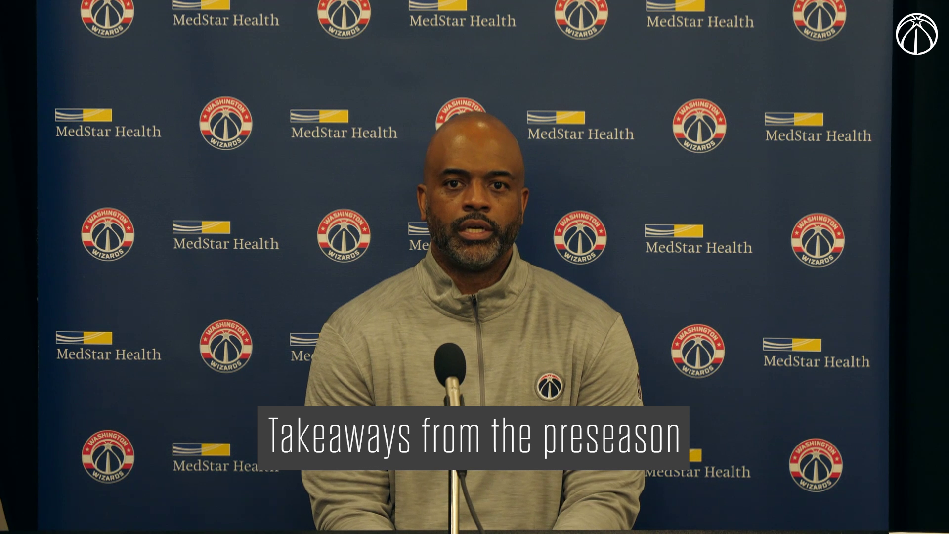 Wes Unseld Jr. Postgame Media Availability - 10/15/21