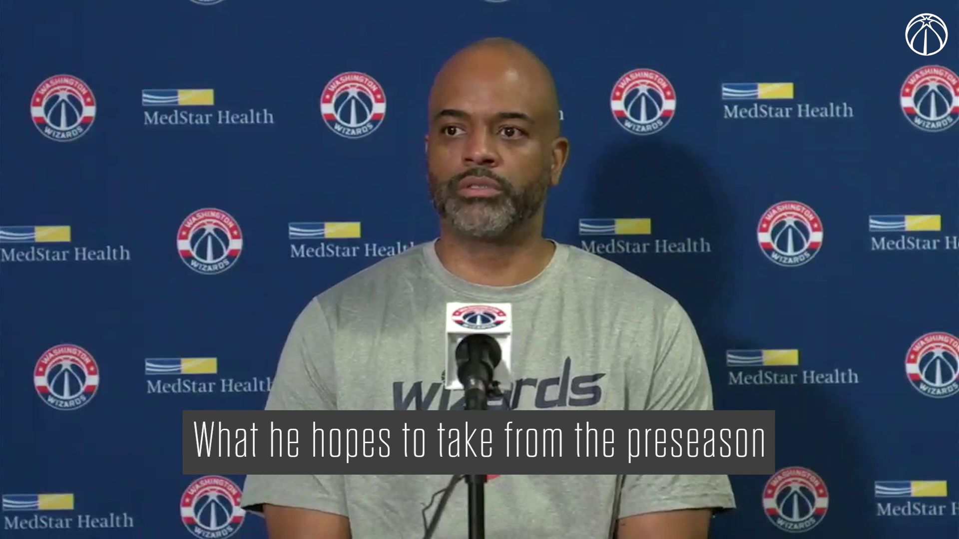 Wes Unseld Jr. Media Availability - 10/17/21